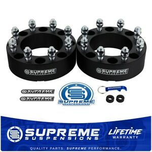 For 1973 1996 Ford F250 F350 8 Lug 2pc Set 1 5 Wheel Spacers Heavy Duty Pro Kit