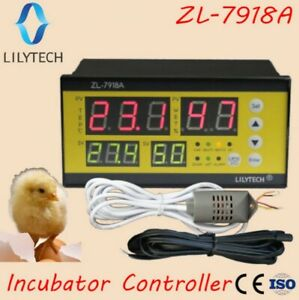 Controller Automatic Incubator Management System 100 240vac Model Zl 7918a