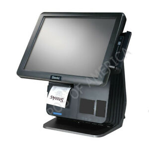 Sam4s Spt 7650 All in one Touch Screen Terminal Pos Windows 10 With Printer Msr
