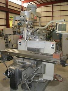 Cnc Mill Bridgeport Ez Trak Dx Ii 2 axis 32 x 14 5 y 5 z 2 Hp 4200 Rpm