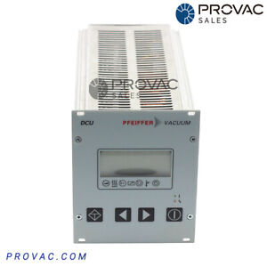 Pfeiffer Dcu 200 Turbo Pump Controller Rebuilt By Provac Sales Inc
