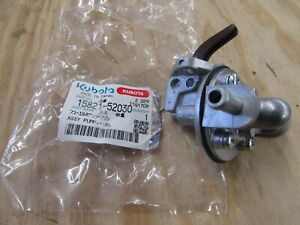 Genuine Oem Kubota Pump Fuel Assy Part 15821 52030