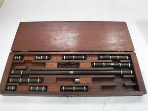 Lufkin Inside Bore Micrometer Set 1 To 15 Used Cheap M2