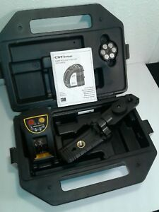 Cst berger Hi powered Green Beam Laser Cross Level 58 ilmxt With Case