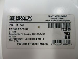 Brady Ptl 43 422 Tlc2200 Bmp61 Bmp71 Tls 2200 Toughbond Polyester Labels New