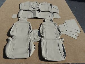 Leather Seat Covers Interior Upholstery Fits Toyota Prius 2010 2013 Tan A136
