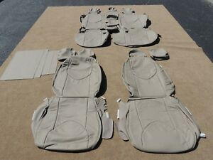 Leather Seat Covers Interior Upholstery Fits Toyota Rav4 2006 2012 Tan M102