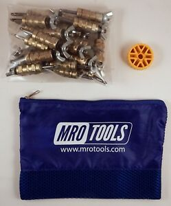25 3 16 Standard Wing nut Cleco Fasteners W Hbht Tool Carry Bag Kwn1s25 3 16