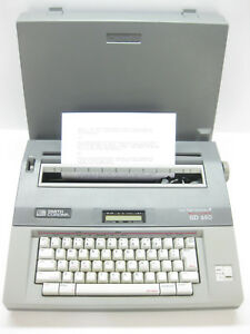 Smith Corona Sd 650 Electronic Memory Typewriter Barely Used Great Condition