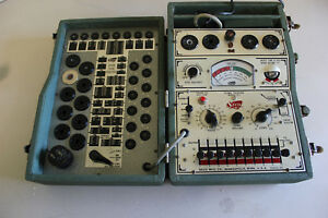 Vintage Seco Model 107 Tube Tester Tested 6ak5 Passed Tube Chart