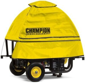 Champion Portable Generator Cover 100376 Self Attaching Protection Waterproof