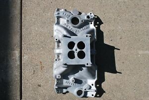 Offenhauser Chevrolet Small Block Intake Manifold P n 6124 Dial A Flow