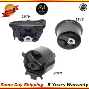 Trans Mount Set For 95 99 Dodge Stratus Plymouth Neon 2 0 L