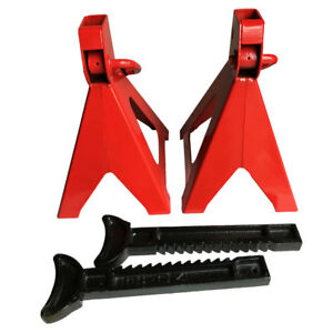 1 Pair 6 Ton Jack Stands Heavy Duty Mechanic Hoist Lift Stands Auto Tool