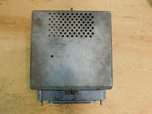 1951 52 Ford Car Truck Radio Untested As Is Parts Or Repair