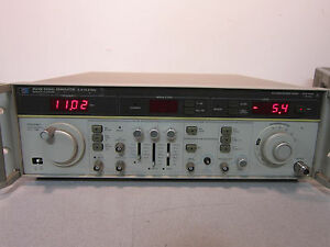 Hp 8684b Synthesized Signal Generator Opt 002 003 H03 Powers On Sold As is