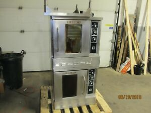 Blodgett Dfg 50 Half Size Double Stack Gas Convection Ovens