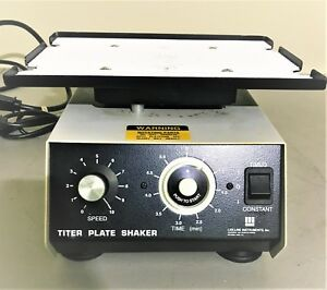 Lab line Titer Plate Shaker 4625 Barnstead Thermolyne With Timer