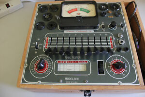 Vintage Superior Instrument Tv 11 Tube Tester Tested 6ak5 Good