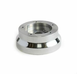 5 Hole 5 Billet Steering Wheel Adapter Chevy Gm Jeep Pontiac Cadillac Buick