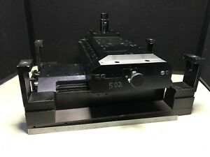 Positionning Table Axis X Y With Motor Adapters Travels About 3 1 4 Either Way