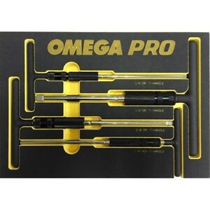 83024 4 Piece Adjustable T handle Speed Wrench Set From Omega Tools