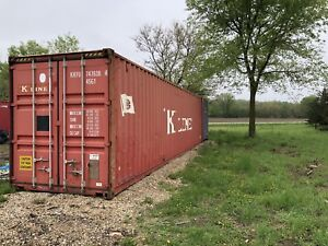 40 Foot High Cube Shipping Container