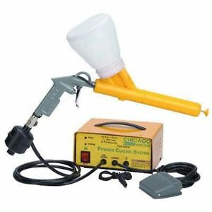 Powder Coat Painting Gun Coating Machine Sprayer Painter