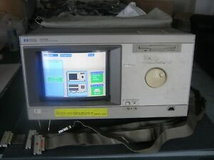 Hp Agilent 16500b Logic Analysis System With One 16555a Card All Tested