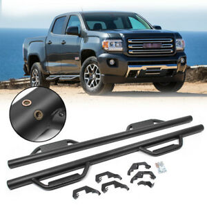 Nerf Bars Running Boards Steps For 07 18 Chevy Silverado Gmc Sierra Extended Cab