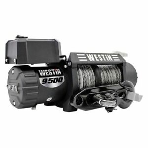 Westin Black Off Road Series Winch W Synthetic Rope 47 2103