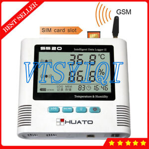 2 Channel Gsm Data Logger Usb Temperature Humidity Datalogger 6 5000 Recorder