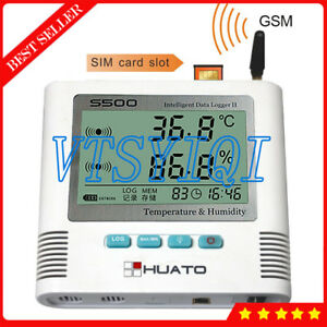 S500 th gsm 2 Channel Gsm Data Logger Usb Temperature Humidity Datalogger