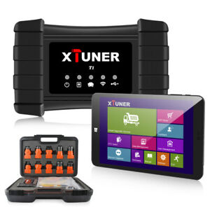 Heavy Duty Truck Diagnostic Tablet Tool Full System Check Windows 10 Xtuner T1