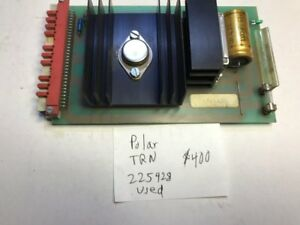 Polar Cutter Trn Circuit Board 225428