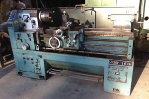 Victor Gap Bed Engine Lathe Mdl 1640 6 Jaw Chuck