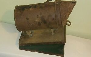 Vintage Bee Hive Smoker Great Patina 1940 s 50 s Primitive Barn Find
