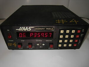 Haas Control 11 Pin Box Cnc Rotary Table Indexer not Tested