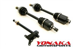 Yonaka New Set 94 01 Integra Gsr Axles Halfshaft Combo Abs Or Non Abs 250 Whp