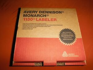 Avery Monarch 1130 Labeler Price Gun new