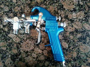 Binks Spray Gun Catalyst Injected Air Assisted Airless