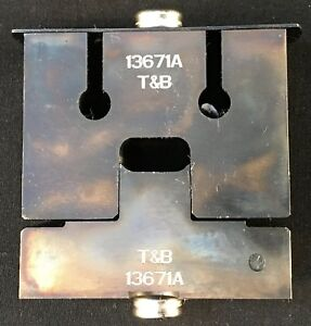 Thomas Betts 13671 13671a Die For 204 Series Dragon Tooth Crimp Connectors Tnb