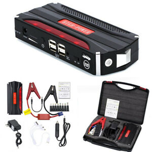 68800 Mah 12v Car Auto Emergency Charger Jump Starter Usb Power Bank Booster