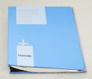 Pantone Pastels Neons Chips Book Coated Uncoated Gb1504 New