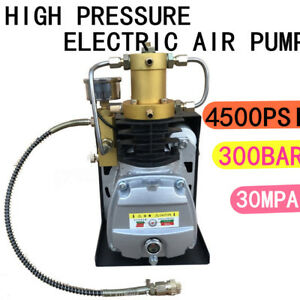 30mpa Air Compressor Pump 220v Pcp Electric High Pressure System Water Cooling