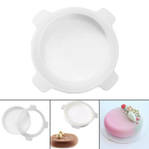 Round Cake Mold Silicone 3D Mousse Baking Pastry Mould Non-stick Muffin