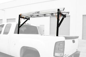 Ladder Rack Heavy Duty Steel Lumber Piping Carrier Holder For Pick Up Truck Bed