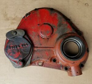 Massey Harris 30 Tractor Continental Engine Front Cover Motor Parts