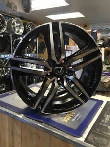 19 2016 Accord Sport Style Wheels Rims Black Fits Honda Accord Ex Lx Lx s V6