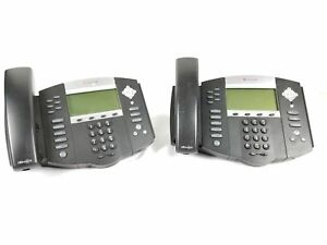 2 Polycom Soundpoint Ip 650 Phone No Wires